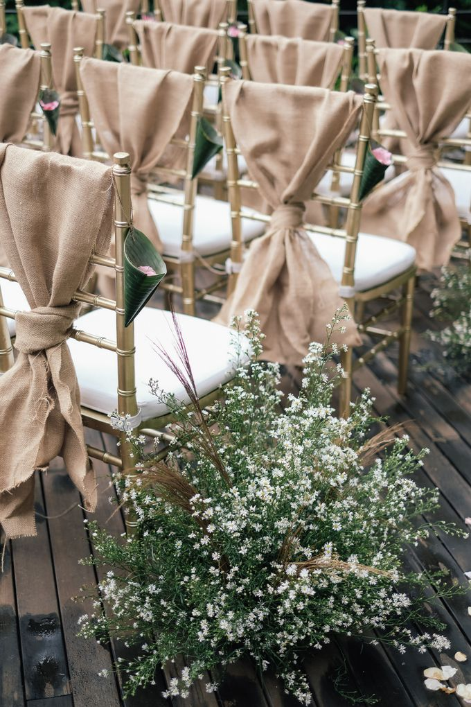 Wedding at Riverside by Bali Flower Decor - 008