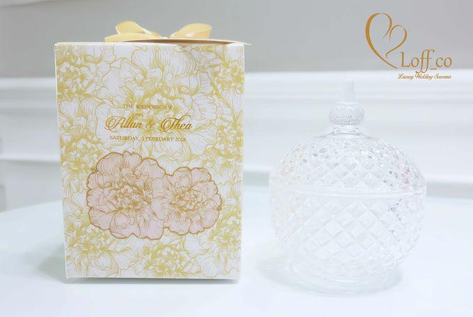 Luxury Crystal Grid & Ceramic Jar by Loff_co souvenir - 012