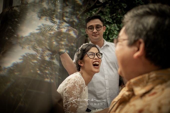Intimate Wedding of Astri & Aldo by Saturasi Moment - 033