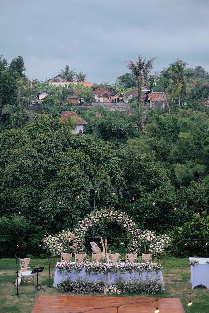 Wedding at Riverside by Bali Flower Decor - 011