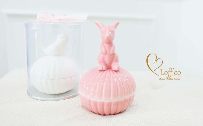 Luxury Crystal Grid & Ceramic Jar by Loff_co souvenir - 013