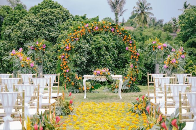 The Wedding of Marion and byron by Bali Flower Decor - 006
