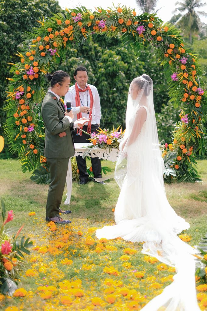 The Wedding of Marion and byron by Bali Flower Decor - 013