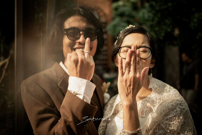 Intimate Wedding of Astri & Aldo by Saturasi Moment - 038