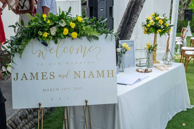Wedding of James and Niamh 14 March 2019 by CITTA Wedding - 003