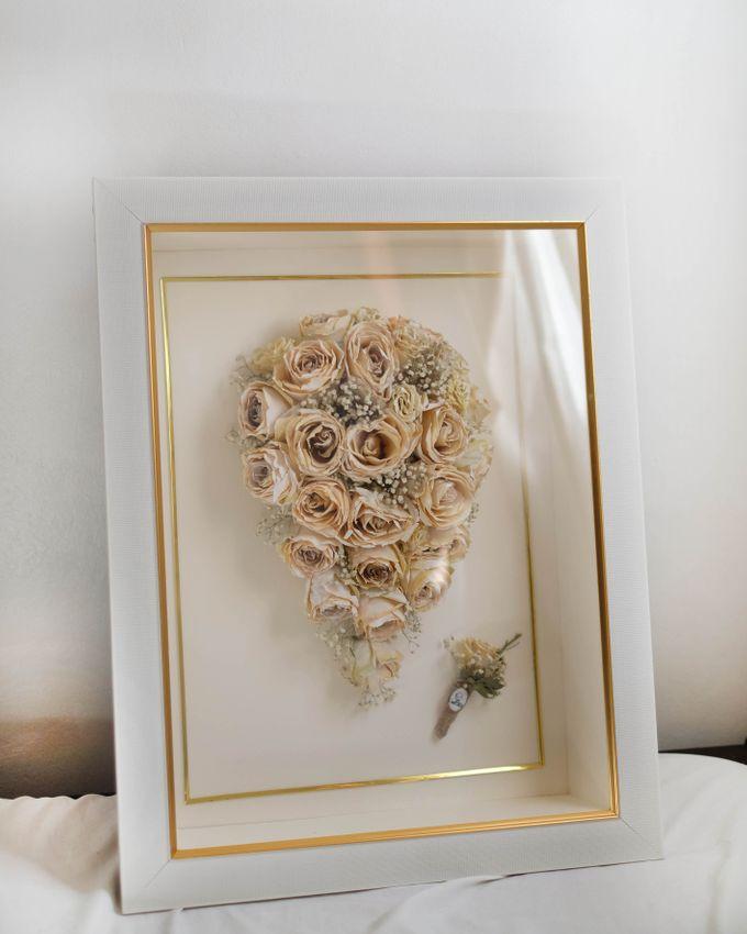 Cascading Bouquet by Camila V Flower Preservation Studio - 002