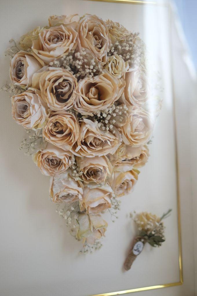 Cascading Bouquet by Camila V Flower Preservation Studio - 001