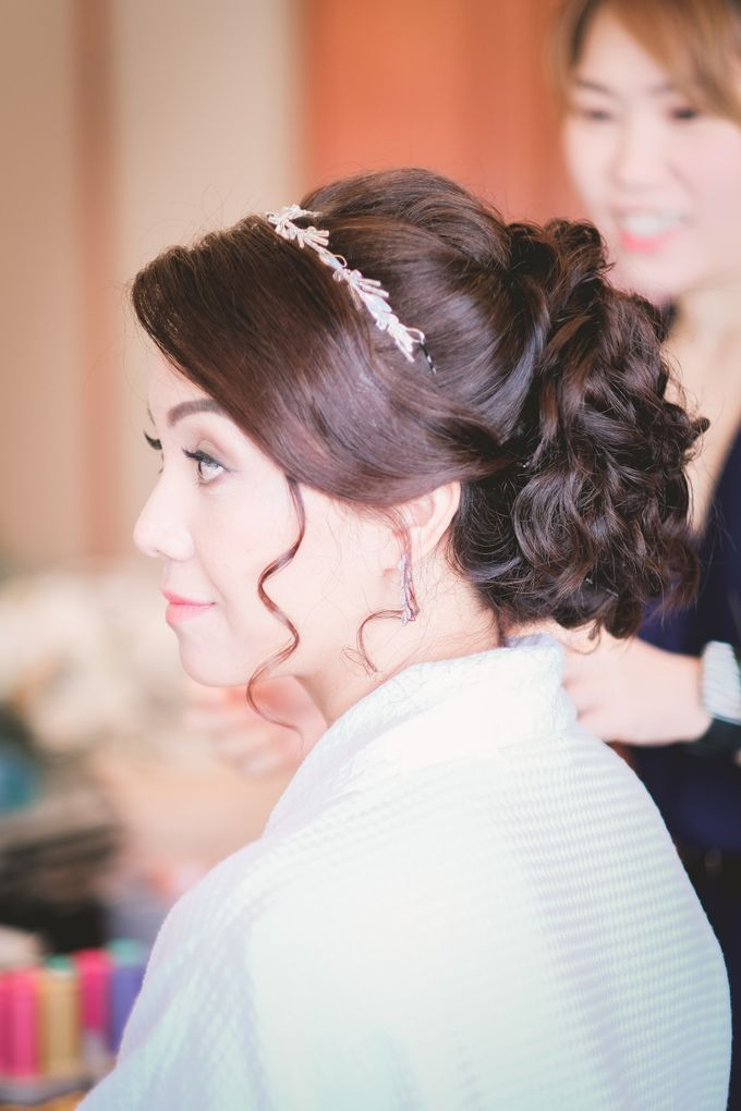 Wedding & Solemnization for Gavin & Emmy by WillieHaz Hair & Beauty - 009