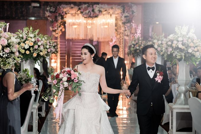 Wedding Day by Dicky - Ronny Selvi by JW MARRIOTT HOTEL MEDAN - 004