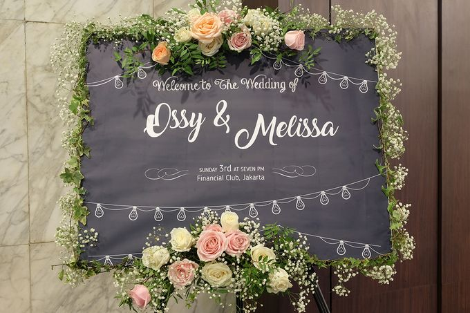 The Wedding of Melissa & Ossy by The Swan Decoration - 013