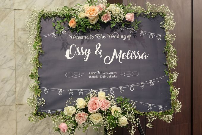 The Wedding of Melissa & Ossy by The Swan Decoration - 014
