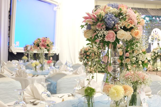 The Wedding of Melissa & Ossy by The Swan Decoration - 027