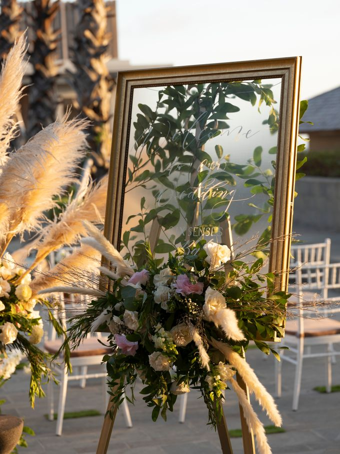 Wedding detail at Six Senses Uluwatu by Six Senses Uluwatu, Bali - 014