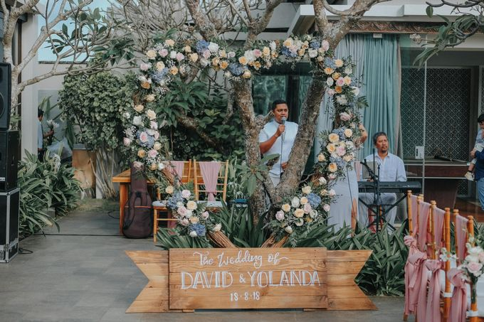 Blush Pastel Wedding by Bali Flower Decor - 007