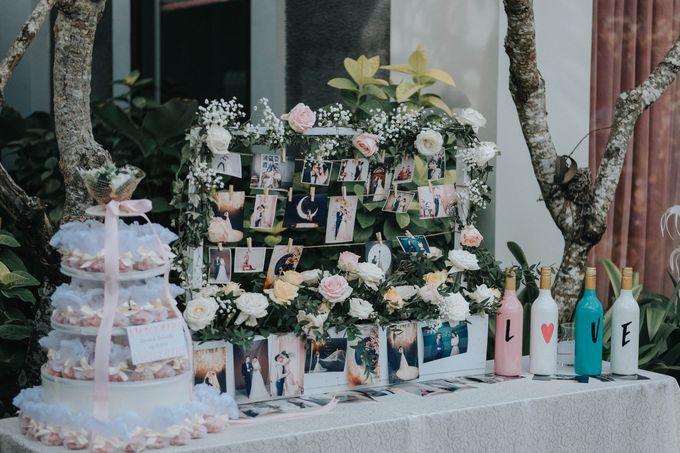 Blush Pastel Wedding by Bali Flower Decor - 003