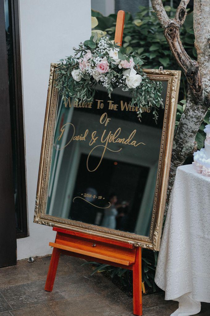 Blush Pastel Wedding by Bali Flower Decor - 004