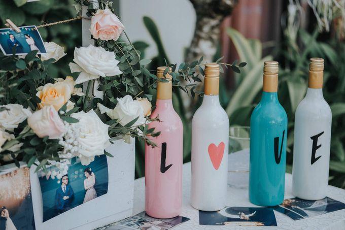 Blush Pastel Wedding by Bali Flower Decor - 011