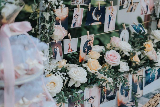 Blush Pastel Wedding by Bali Flower Decor - 012