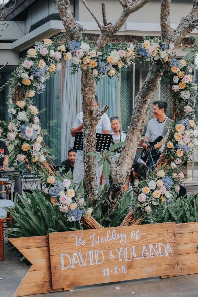 Blush Pastel Wedding by Bali Flower Decor - 013