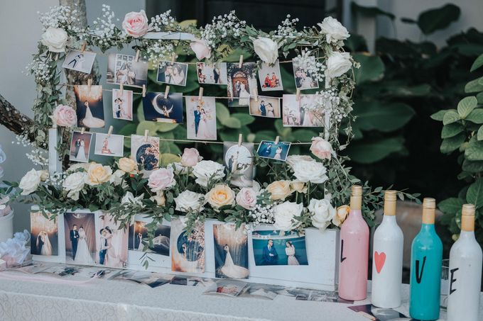 Blush Pastel Wedding by Bali Flower Decor - 014