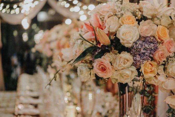 Blush Pastel Wedding by Bali Flower Decor - 018