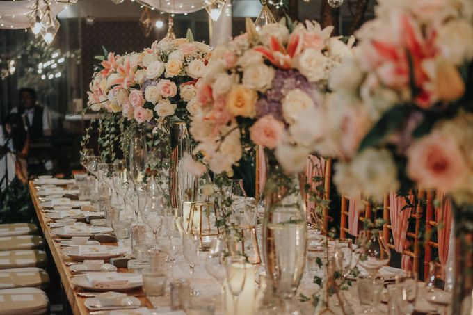 Blush Pastel Wedding by Bali Flower Decor - 019