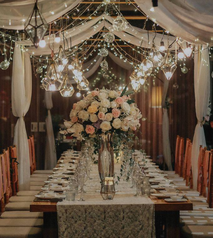 Blush Pastel Wedding by Bali Flower Decor - 020