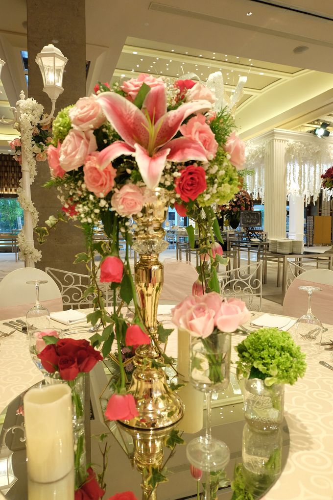 The Wedding of Aditya Riana - Ayana Midplaza Jakarta by The Swan Decoration - 021