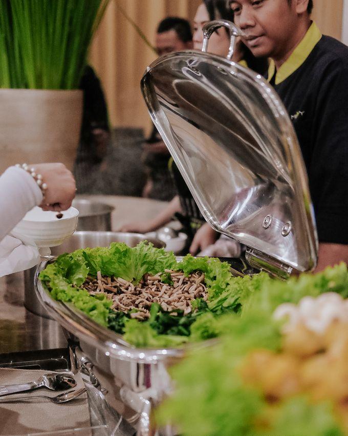 Wedding of Ghafiq & Nenes by Minity Catering - 008