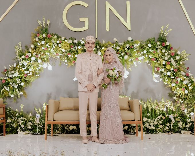 Wedding of Ghafiq & Nenes by Minity Catering - 001