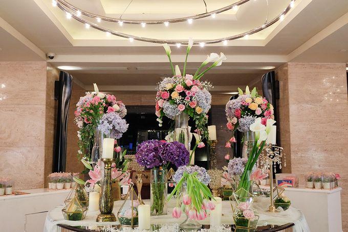 The Wedding of Adrian Silviany - Kempinski bali Room by The Swan Decoration - 050