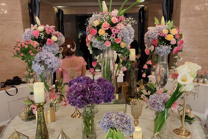 The Wedding of Adrian Silviany - Kempinski bali Room by The Swan Decoration - 042