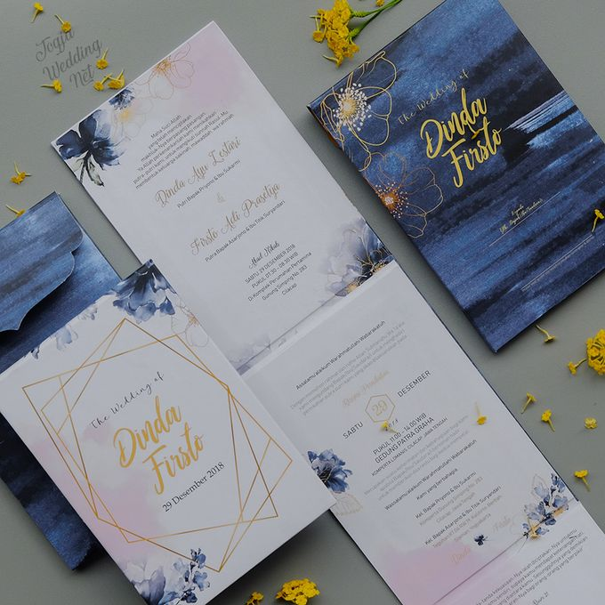 Dinda Fristo Mirror Wedding Invitation By Jogja Wedding