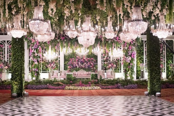 Noha & Rifki Wedding by Amarillis Floral and Party Decorator - 006