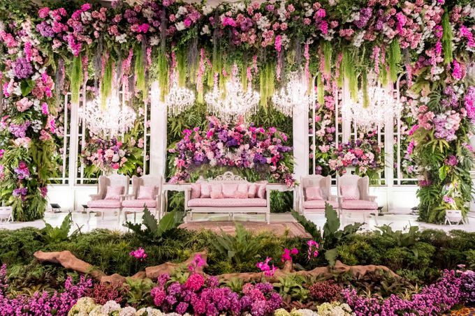Noha & Rifki Wedding by Amarillis Floral and Party Decorator - 005