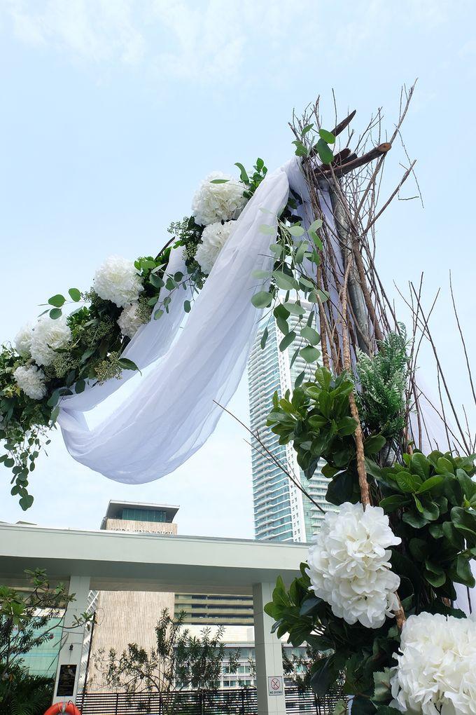 The Wedding of Raymond & Erika by Mandarin Oriental, Jakarta - 030