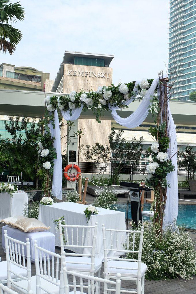 The Wedding of Raymond & Erika by Mandarin Oriental, Jakarta - 031