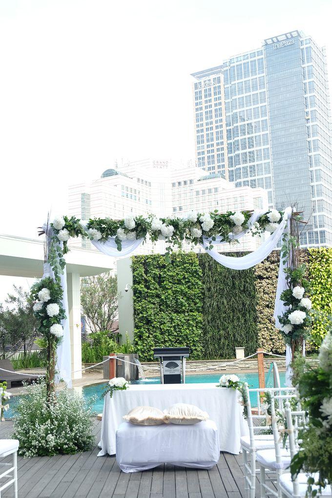 The Wedding of Raymond & Erika by Mandarin Oriental, Jakarta - 035