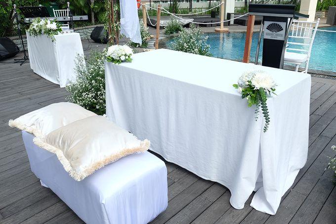 The Wedding of Raymond & Erika by Mandarin Oriental, Jakarta - 001