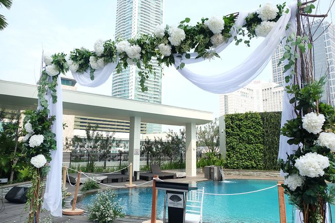 The Wedding of Raymond & Erika by Mandarin Oriental, Jakarta - 002