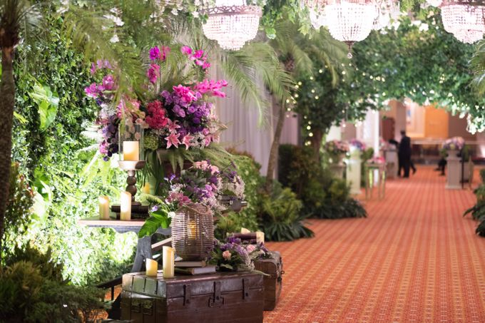 Noha & Rifki Wedding by Amarillis Floral and Party Decorator - 001