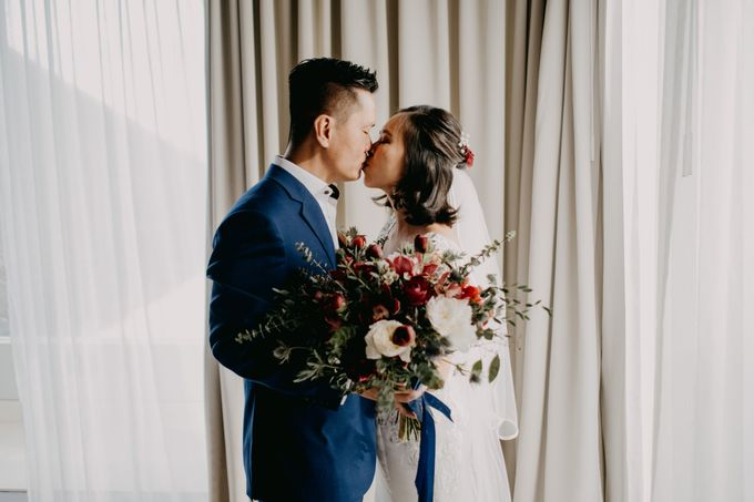 Rustic & Modern Wedding with a hint of Navy at Sinaran Surga Villa Bali by Silverdust Decoration - 025