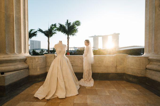 The Wedding of Gilbert & Natalia 190120 The Fullerton Hotel SG by AS2 Wedding Organizer - 011
