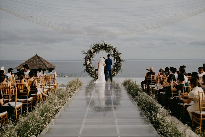 Rustic & Modern Wedding with a hint of Navy at Sinaran Surga Villa Bali by Silverdust Decoration - 028