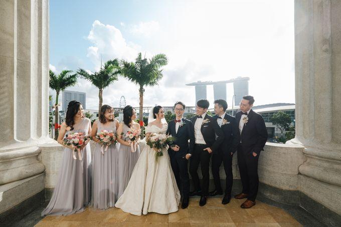 The Wedding of Gilbert & Natalia 190120 The Fullerton Hotel SG by AS2 Wedding Organizer - 019