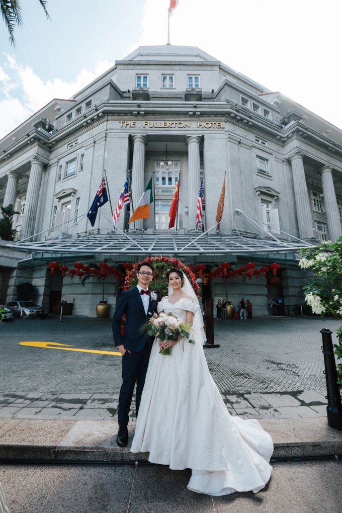 The Wedding of Gilbert & Natalia 190120 The Fullerton Hotel SG by AS2 Wedding Organizer - 022