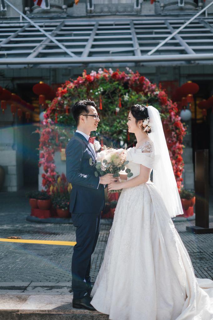 The Wedding of Gilbert & Natalia 190120 The Fullerton Hotel SG by AS2 Wedding Organizer - 021