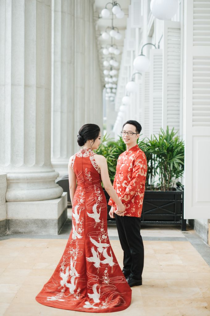 The Wedding of Gilbert & Natalia 190120 The Fullerton Hotel SG by AS2 Wedding Organizer - 015
