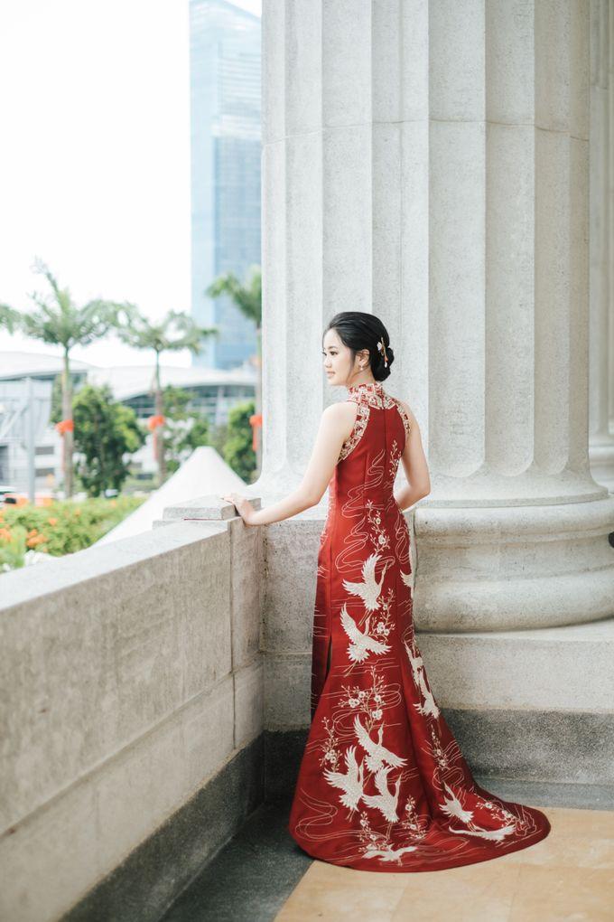 The Wedding of Gilbert & Natalia 190120 The Fullerton Hotel SG by AS2 Wedding Organizer - 023