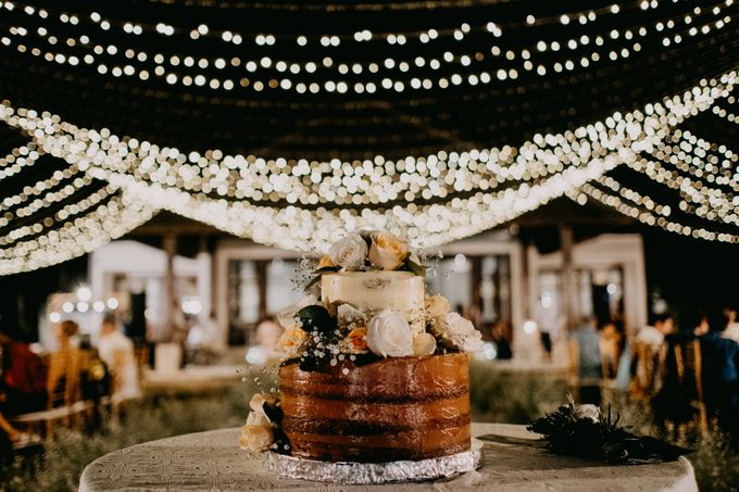 Rustic & Modern Wedding with a hint of Navy at Sinaran Surga Villa Bali by Silverdust Decoration - 003
